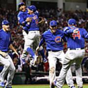 World Series - Chicago Cubs V Cleveland 8 Poster