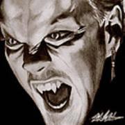80's Vampire Poster by Michael Mestas