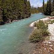 850p Bow River Canada Poster