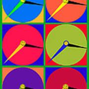 879 - Three Thirty - Eight Pop Clocks Poster