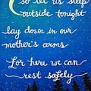 8x10 Dmb So Let Us Sleep Outside Tonight Poster