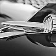1957 Chevrolet Belair Hood Ornament Poster