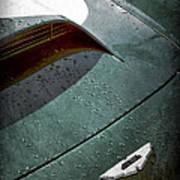 1959 Aston Martin Db4 Gt Hood Emblem Poster