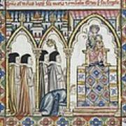 Alfonso X, Called The Wise 1221-1284 Poster