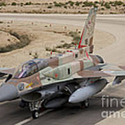An F-16i Sufa Of The Israeli Air Force Poster