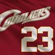 Cleveland Cavaliers Uniform Poster