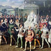 Elizabeth I  (1533-1603) Poster