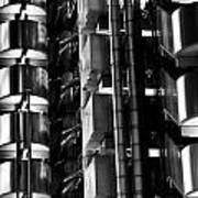 Lloyd's Building London Abstract  Poster