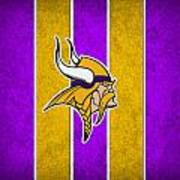 Minnesota Vikings Poster by Joe Hamilton