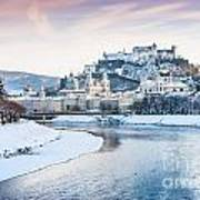 Salzburg In Winter Poster
