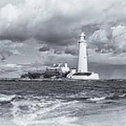 St Marys Lighthouse Poster