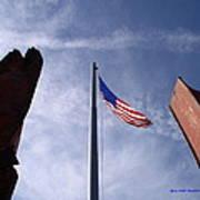 911 Tribute At Winslow Arizona Poster
