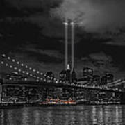 911 Tribute Lights Poster