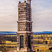 91st Pennsylvania Infantry Monument Poster