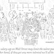 True, A Salary Cap On Wall Street May Limit Poster
