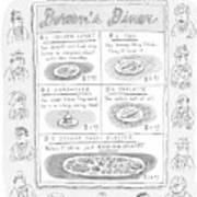 Doreen's Diner Poster