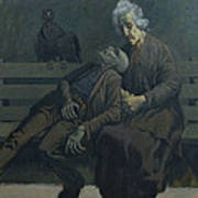 A Bench In Paris, 1960 Poster