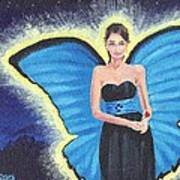 A Blue Fairy Poster by Glenn Harden