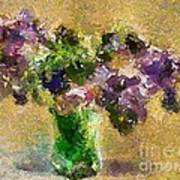 A Bouquet Of Lilac Poster