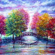 A Bridge To Cross Poster by Ann Marie Bone