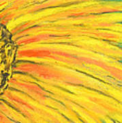 A Burst Of Yellow Poster