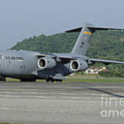 A C-17 Globemaster IIi Of The U.s. Air Poster