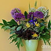 A Chanticleer Spring Bouquet Poster