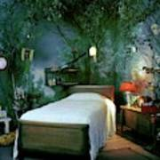 A Child's Bedroom Designed By William Riva Poster