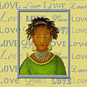 A Child's Whispers Of Love Poster by The Art With A Heart By Charlotte Phillips
