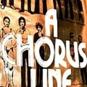 A Chorus Line Vintage Poster