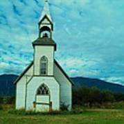 A Church In British Columbia   Poster