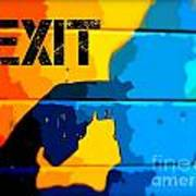 A Colorful Exit  Poster
