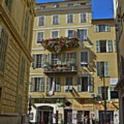A Corner In Nice Poster