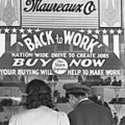 A Couple Shopping Poster