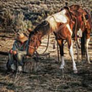 A Cowgirls Best Friend Poster