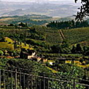 A Day In Tuscany Poster