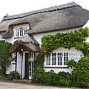A Devonshire Cottage Poster