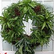 A Different Christmas Wreath Poster
