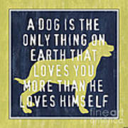 A Dog... Poster