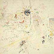 A Dream In Absinthe, 1890 Poster