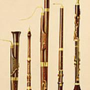 A Dulcian, An Oboe, A Bassoon Poster