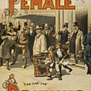 A Female Drummer Poster