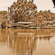 A Forgotten Delta Marina Poster