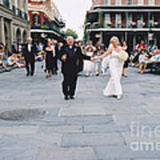 A French Quarter Wedding Poster