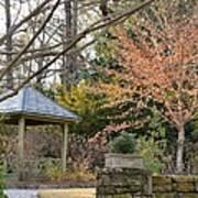 A Garden Walk In February Poster