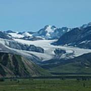 A Glacier Receding Poster