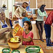 A Grandma And Grandpop Christmas Poster
