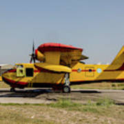 A Hellenic Air Force Canadair Cl-215 Poster