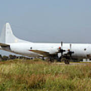 A Hellenic Navy P-3 Orion Aew Aircraft Poster