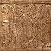 A King Carved In Wood Poster